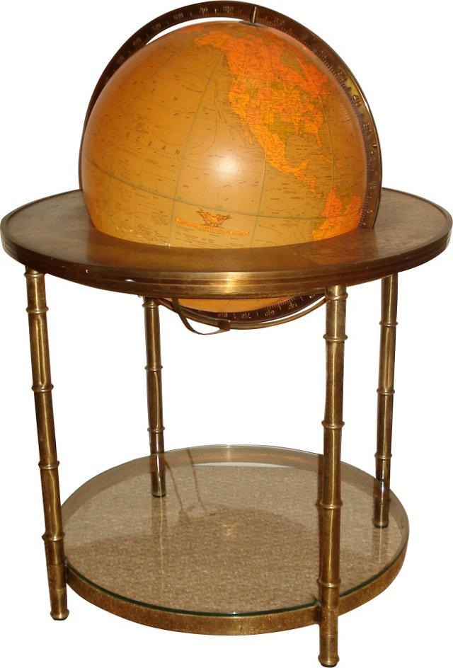 Mastercraft Illuminated World Globe