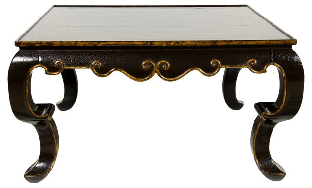 Gregorius Pineo Scalloped Coffee Table