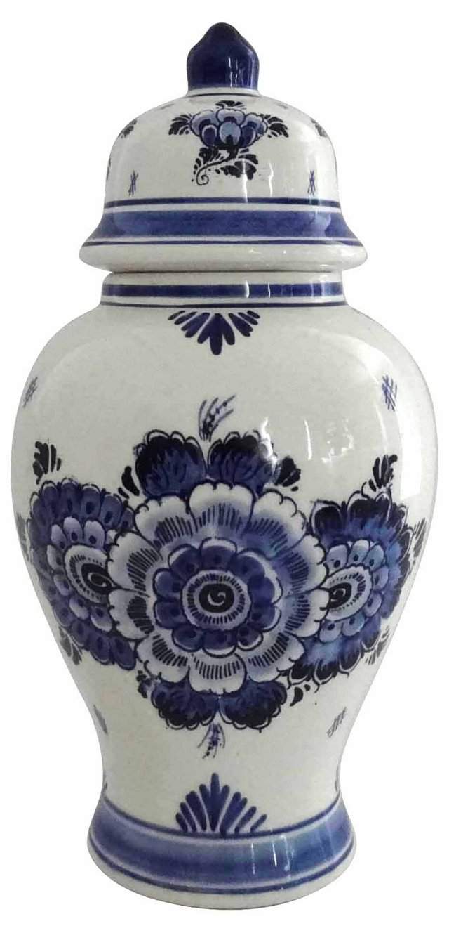 Delft Blue & White Ginger Jar