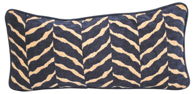 Chenille Animal-Print Lumbar  Pillow