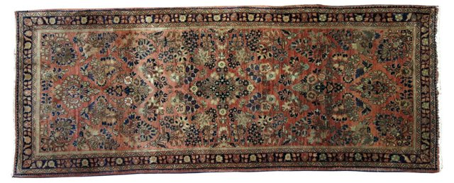 Persian Sarouk, 6'4'' x 2'6''