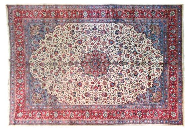 Antique Persian Carpet, 12'2'' x 8'7''