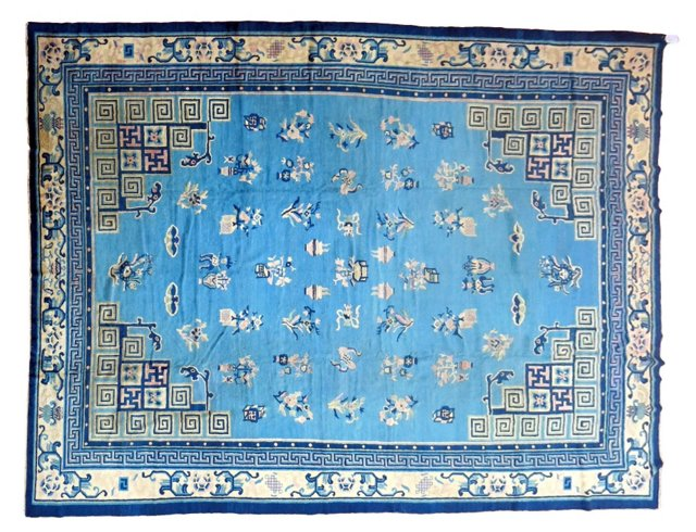 Chinese Peking Rug, 13'4'' x 10'1''