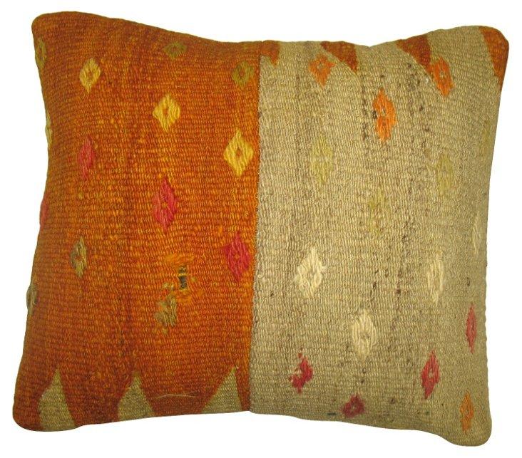 Abstract    Kilim Pillow