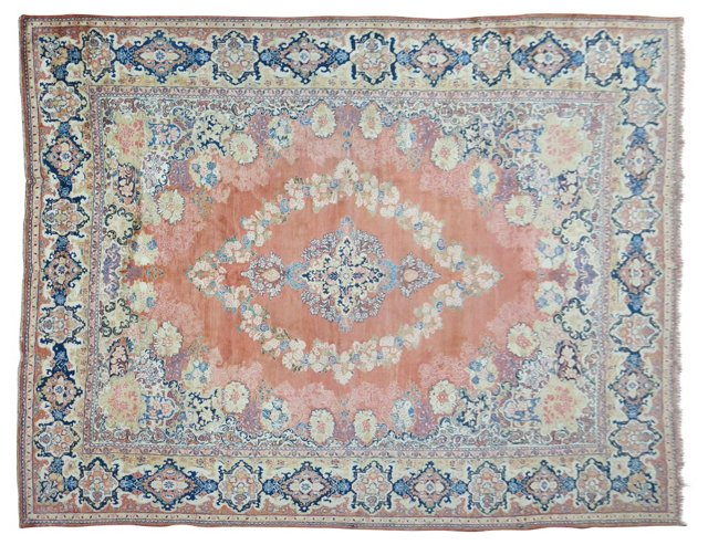 Antique Persian Sarouk, 17'2'' x 12'1''