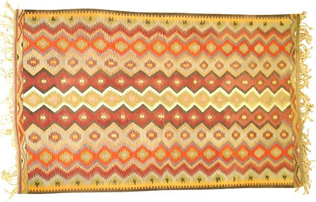 Turkish Kilim, 9' x 5'6''