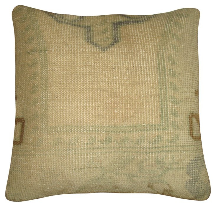 Pale        Oushak Pillow