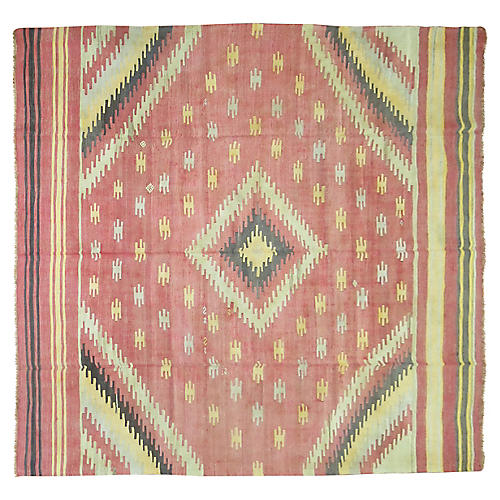Turkish Kilim, 10'9'' x 7'9''