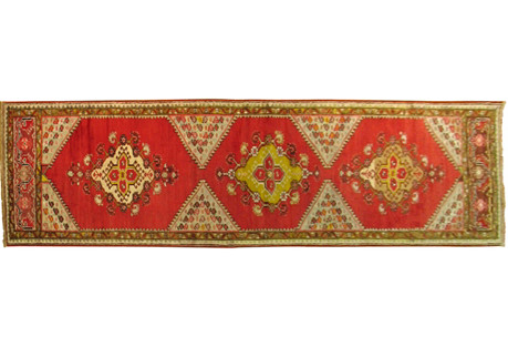 Turkish Sivas Runner, 10'9'' x 2'4''