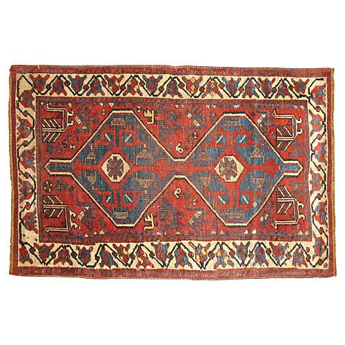 Tribal Persian Rug, 4'5'' x 2'8''