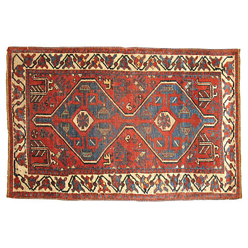 Tribal Persian Rug, 4'5'' x 2'8''
