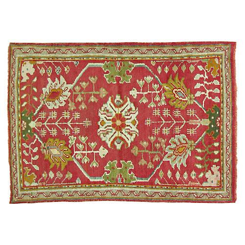 Antique Oushak Rug, 5' x 3'3''