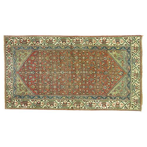 Antique Malayer Rug, 4'9'' x 2'11''