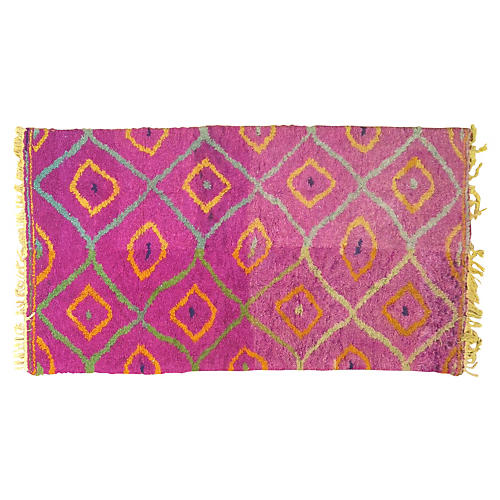 Moroccan Rug, 7'4'' x 3'10''