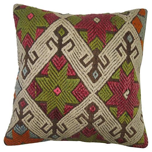 Jajim Flat-Weave Pillow