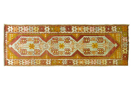 Anatolian Runner, 8'7'' x 2'8''