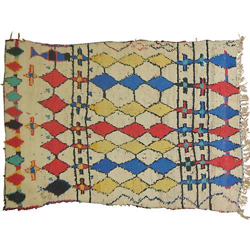 Moroccan Rug, 7' x 4'1''