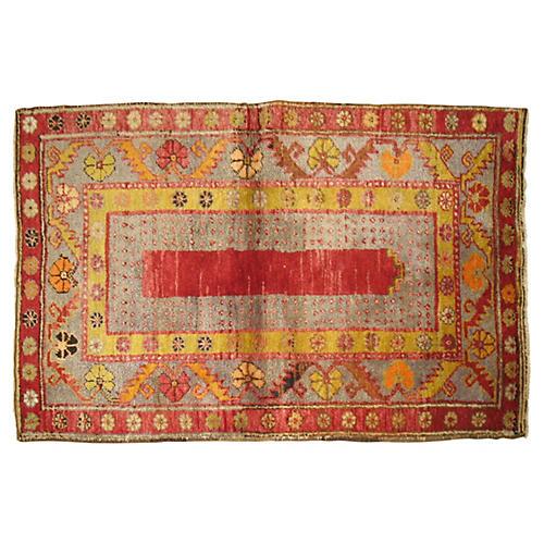 Anatolian Rug, 4'9'' x 2'9''