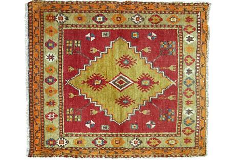 Anatolian Rug, 3' x 2'7''