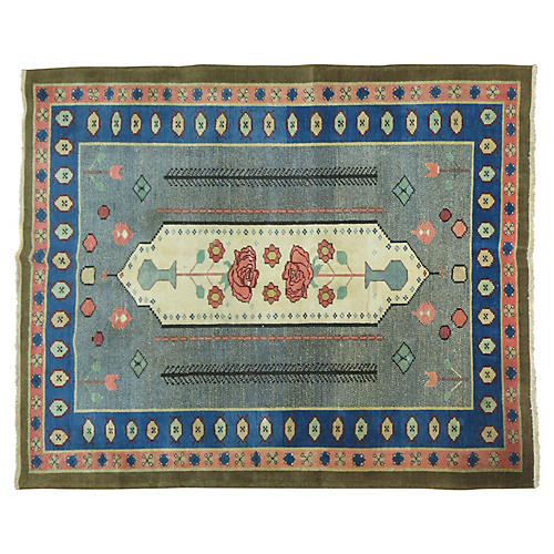 Turkish Rug, 5'10'' x 5'