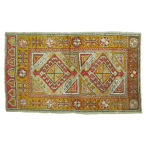 Anatolian Rug, 2'4'' x 3'8''