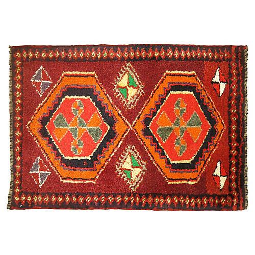 Anatolian Rug, 1'10'' x 2'8''