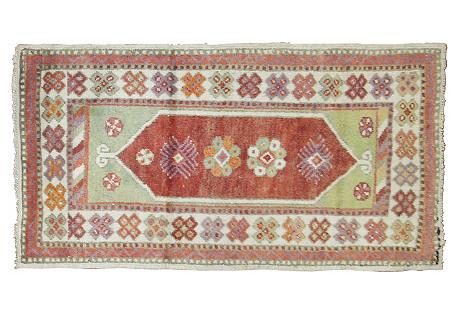 Turkish Rug, 2'6'' x 4'1''