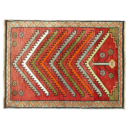 Turkish Prayer Rug, 2'4'' x 3'3''