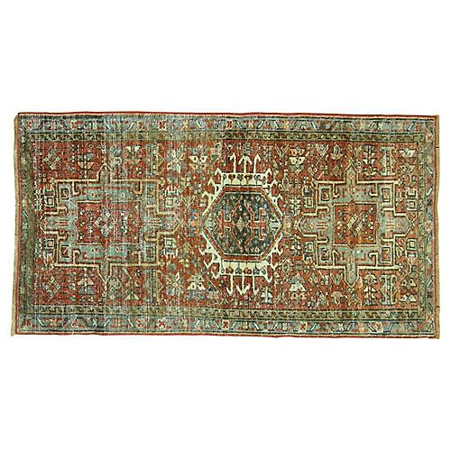 Persian Heriz Rug, 2'1'' x 3'9''