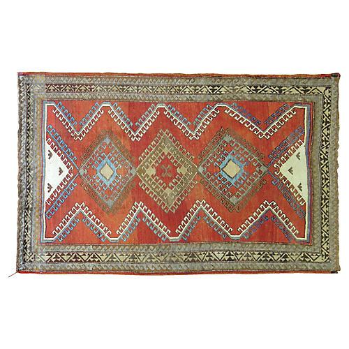Vintage Turkish Rug, 5'5'' x 8'8''