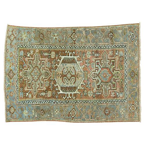 Antique Persian Heriz Rug, 2'9'' x 4'2''