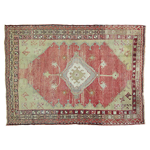 Anatolian Rug , 5' x 7'2''