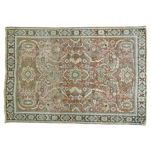 Persian Mahal Rug, 4'7'' x 6'9''