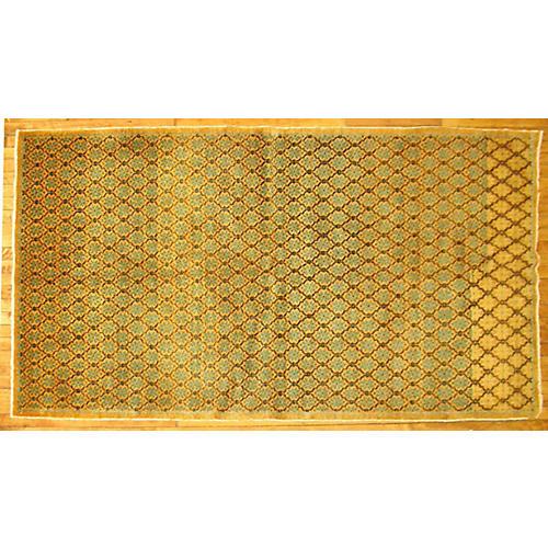 Turkish Deco Rug, 4'3'' x 7'5''