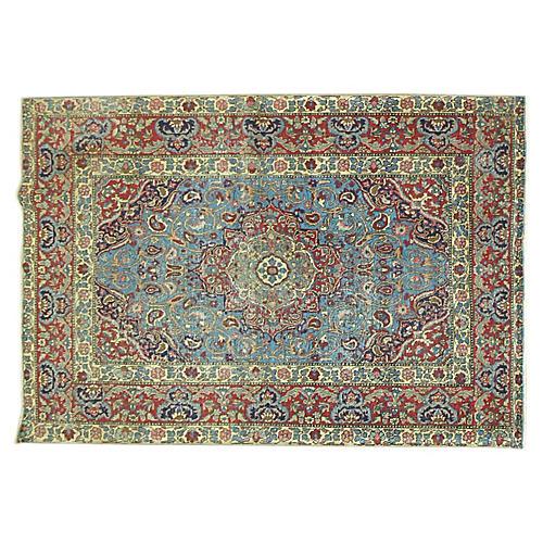 Antique Persian Tabriz, 4'7'' x 6'1''