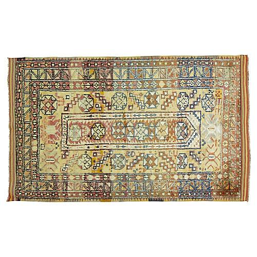 "Anatolian Rug, 3'6"" x 5'7"""