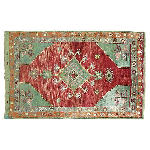 "Anatolian Rug, 3'6"" x 5'"