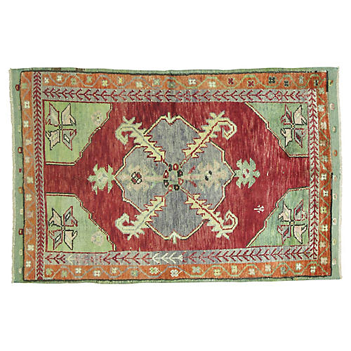 "Anatolian Rug, 3'4"" x 5'1"""
