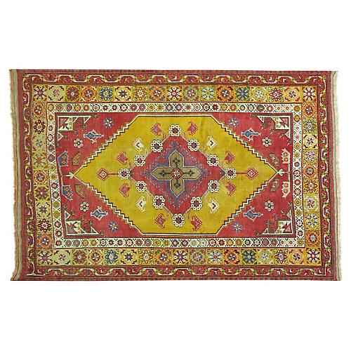 "Anatolian Rug, 4'6"" x 6'4"""