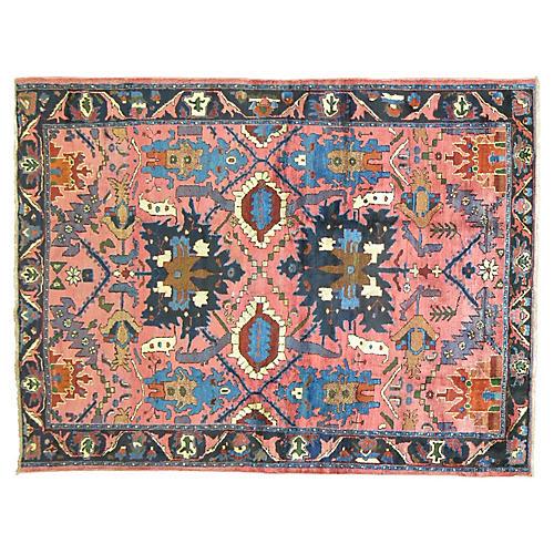 """Persian Rug, 5'2"""" x 6'4"""""""