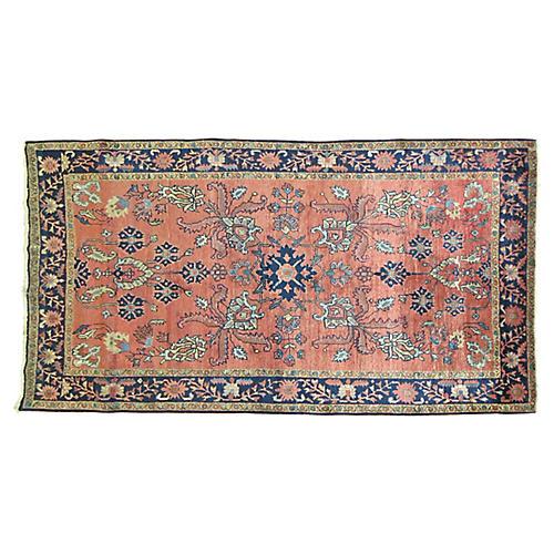 """Persian Rug, 4'3"""" x 7'"""