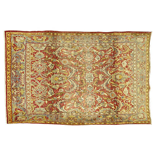 Anatolian Rug, 4'8'' x 6'6''