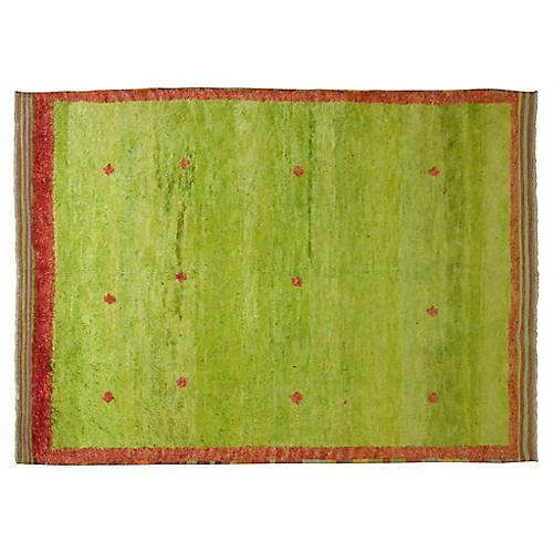 Green Tulu Rug, 5'3'' x 7'8''