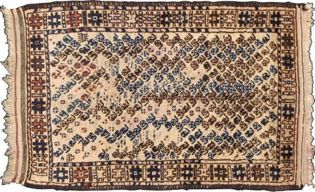 """Turkmen Baluch, 4'4"""" x 2'7"""""""