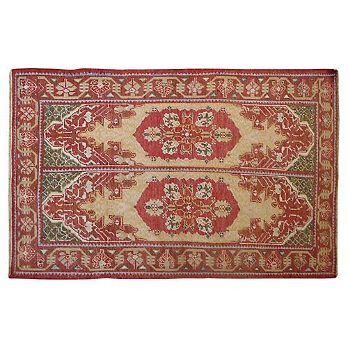 """Antique Turkish Rug, 7' x 4'5"""""""