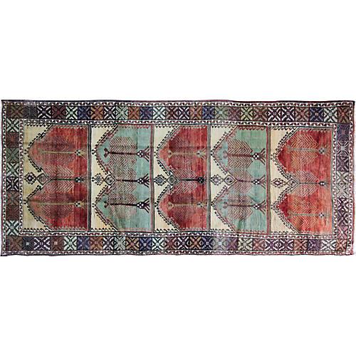 "Oushak Gallery Rug, 5'4"" x 12'9"""