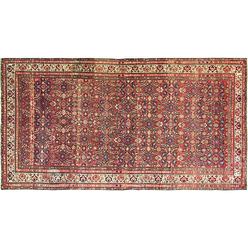 "Gallery-Size Malayer Rug, 5'9"" x 11'5"""