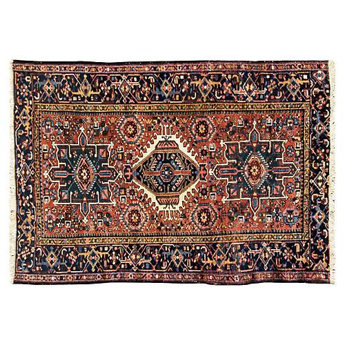 """Antique Karabagh Rug, 4'6"""" x 6'4"""""""
