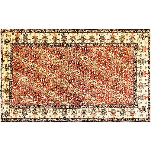 """Antique Zel-I-Sultan Rug, 4' x 6'7"""""""
