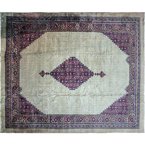 Antique Serab Carpet, 12' x 14'